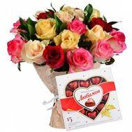 Красочный букет - цветы и букеты на roza.od.ua