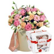 Легкая свежесть - цветы и букеты на roza.od.ua
