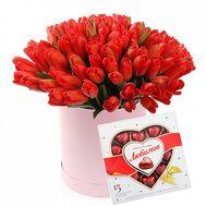 Люблю тебя - цветы и букеты на roza.od.ua
