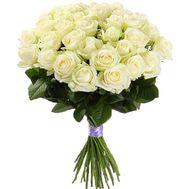 Букет из белых роз - цветы и букеты на roza.od.ua