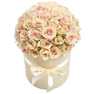 Cream tenderness - flowers and bouquets on roza.od.ua