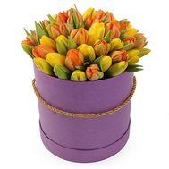 Огненный букет - цветы и букеты на roza.od.ua
