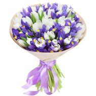Весенний букет цветов - цветы и букеты на roza.od.ua