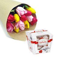Весенний каприз - цветы и букеты на roza.od.ua