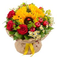 Bouquet of flowers - Fireworks of emotions - flowers and bouquets on roza.od.ua
