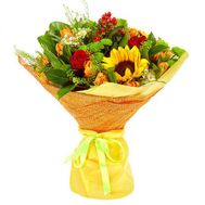 Bouquet of flowers - Hit of summer - flowers and bouquets on roza.od.ua