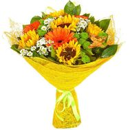 """Bouquet of flowers - Summer flowers"" in the online flower shop roza.od.ua"