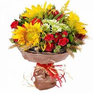 """Bouquet of flowers - Summer fairy tale"" in the online flower shop roza.od.ua"