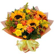 Bouquet of flowers - Fairy glade - flowers and bouquets on roza.od.ua