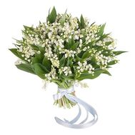 Lily of the valley bouquet - Spring - flowers and bouquets on roza.od.ua