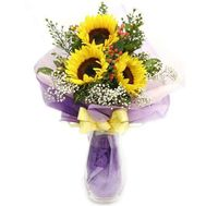 Bouquet of sunflowers - Bright day - flowers and bouquets on roza.od.ua