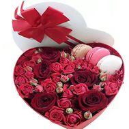 Сердечное признание - цветы и букеты на roza.od.ua