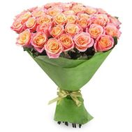 51 peachy rose - flowers and bouquets on roza.od.ua