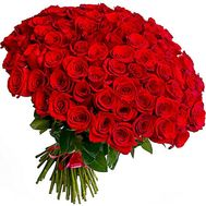 99 red roses - flowers and bouquets on roza.od.ua