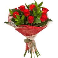 Bouquet of 11 roses El Toro - flowers and bouquets on roza.od.ua