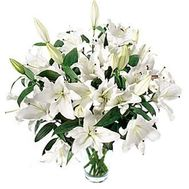 Bouquet of 19 lilies - flowers and bouquets on roza.od.ua