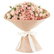 Bouquet of 29 bush roses - flowers and bouquets on roza.od.ua