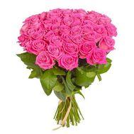 Букет из 29 розовых роз - цветы и букеты на roza.od.ua