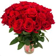 Bouquet of 31 red roses - flowers and bouquets on roza.od.ua