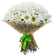Bouquet of 35 chamomiles - flowers and bouquets on roza.od.ua