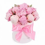Chic Peonies in a Box - flowers and bouquets on roza.od.ua