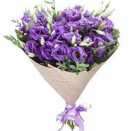 15 фиолетовых эустом - flowers and bouquets on roza.od.ua