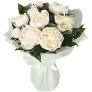 """Bouquet of white peonies"" in the online flower shop roza.od.ua"