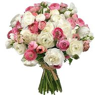 """Bouquet with Ranunculus"" in the online flower shop roza.od.ua"