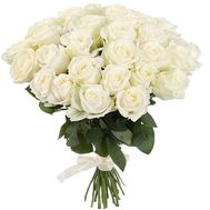 31 white rose - flowers and bouquets on roza.od.ua