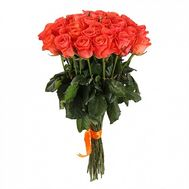 31 adorable orange rose - flowers and bouquets on roza.od.ua