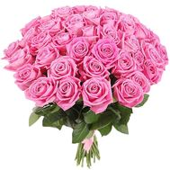 41 розовая роза - цветы и букеты на roza.od.ua
