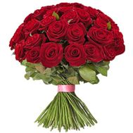 81 красная роза - цветы и букеты на roza.od.ua