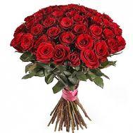 Букет красных роз на 40-летие - цветы и букеты на roza.od.ua