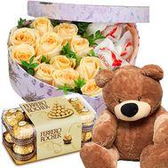 Подарок романтика - цветы и букеты на roza.od.ua