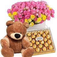 Шикарный цветочный подарок - цветы и букеты на roza.od.ua