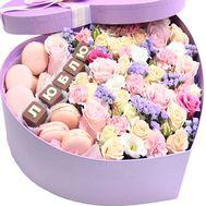 Композиция-Люблю сильно - цветы и букеты на roza.od.ua