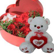 Милый подарок для любимой - цветы и букеты на roza.od.ua