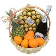 Original gift basket - flowers and bouquets on roza.od.ua