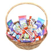 Chocolate gift basket - flowers and bouquets on roza.od.ua