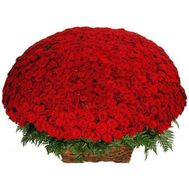 1001 red rose - flowers and bouquets on roza.od.ua