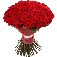 Bouquet of 101 roses - flowers and bouquets on roza.od.ua