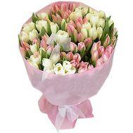 101 тюльпан - цветы и букеты на roza.od.ua