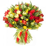 101 tulip - flowers and bouquets on roza.od.ua