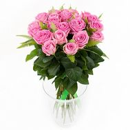 Bouquet of pink roses - flowers and bouquets on roza.od.ua