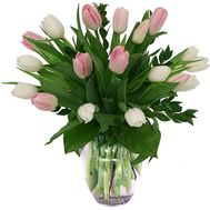 """19 tulips"" in the online flower shop roza.od.ua"