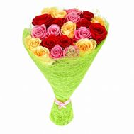 Bright bouquet of roses - flowers and bouquets on roza.od.ua