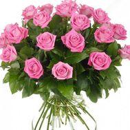 Букет из розовых роз - цветы и букеты на roza.od.ua