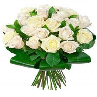 Bouquet of white roses - flowers and bouquets on roza.od.ua