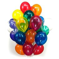 25 balloons - flowers and bouquets on roza.od.ua