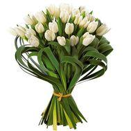 """""""29 белых тюльпанов"""" в интернет-магазине цветов roza.od.ua"""